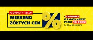 Promocja Weekend Żółtych Cen w Rtv Euro Agd - kup taniej AGD!