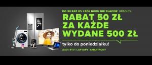 Promocja 50 zł za 500 zł w Neonet - kup taniej wybrane małe AGD!