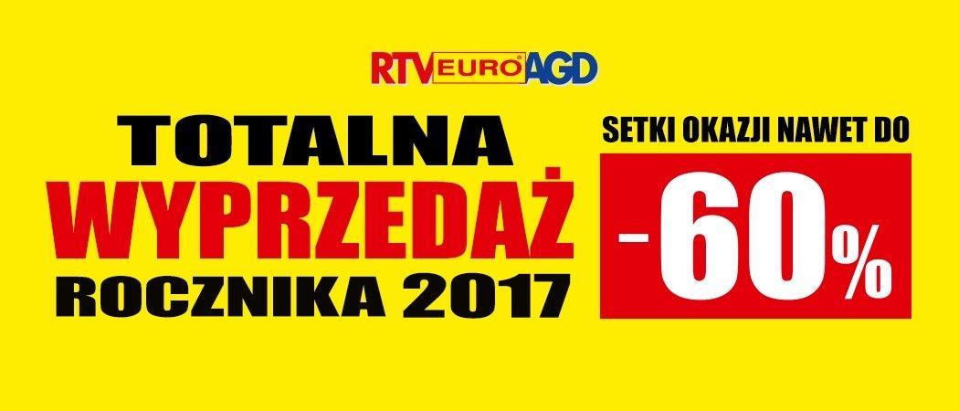 Wyprzedaż Rocznika 2017 W Rtv Euro Agd Kup Agd Do 60 Taniej