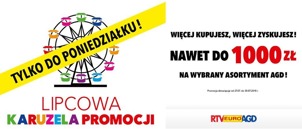 e94f610af777d8 Promocja na wybrane AGD w RTV EURO AGD - kup wybrane AGD z rabatem nawet do 1000  zł!