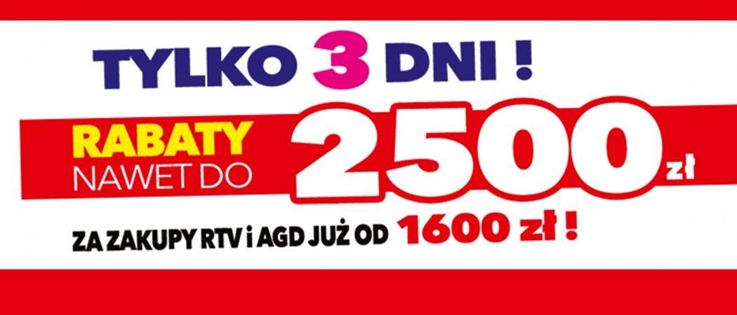 1ad0894c1cae27 Promocja na AGD w RTV EURO AGD - kup promocyjny sprzęt AGD i odbierz nawet  do 2500 zł ...