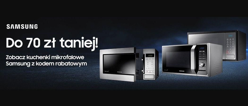 Promocja W Rtv Euro Agd Kup Kuchenke Mikrofalowa Samsung Do 70 Zl