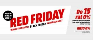 Promocja RED FRIDAY w Media Markt