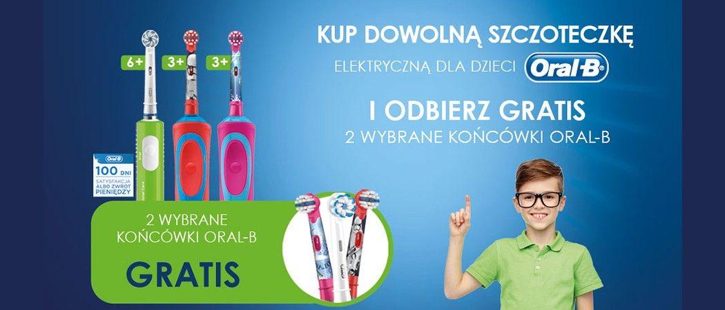Kup W Media Expert Szczoteczkę Dziecięcą Oral B I Odbierz 2 Wybrane