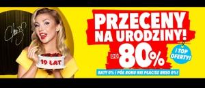 Promocja Przeceny na Urodziny w Media Expert - kup taniej AGD!