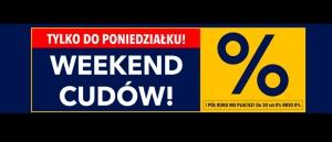 Promocja Weekend cudów w Rtv Euro Agd - kup taniej wybrane AGD!